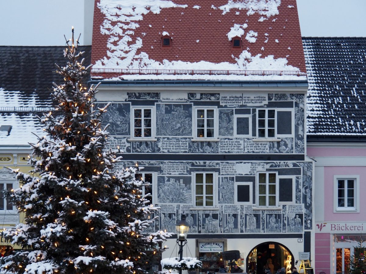 Weihnachtsmärkte, Wien und Weitra