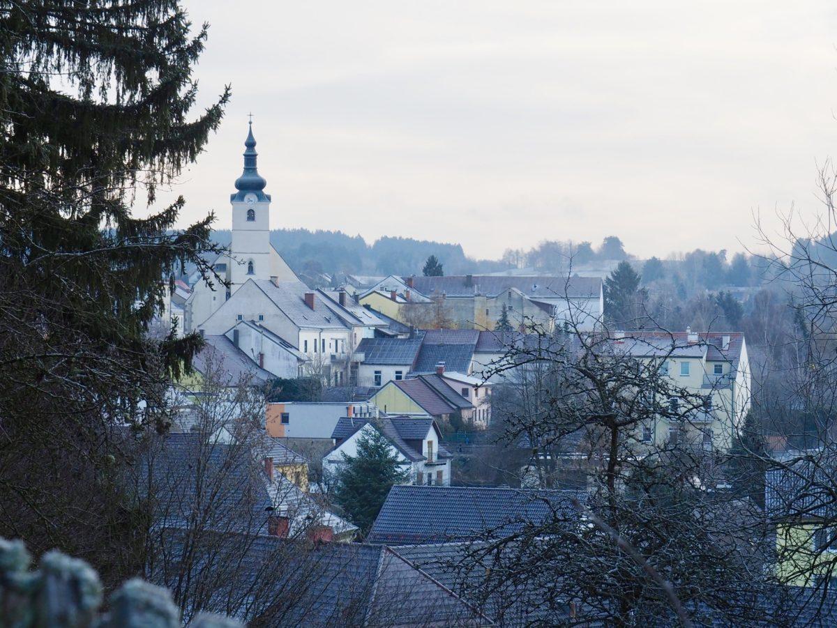 Weihnachtswahnsinn in Wien, Advent in Litschau und der erste Schnee.
